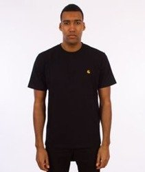 Carhartt-Chase T-Shirt Black/Gold