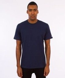 Carhartt WIP-Base T-Shirt Blue/White