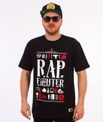 DIIL-Rap Fighter T-Shirt Czarny