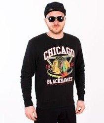 Majestic-Chicago Black Hawks Crewneck Black