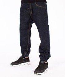 Mass-Base Denim Jogger Pants Spodnie Dark Blue