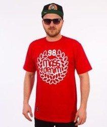 Mass-Base T-shirt Czerwony