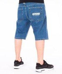 Mass-Classics Spodnie Krótkie Jeans Light Blue