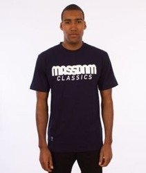 Mass-Classics T-shirt Granatowy