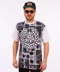 Mass-Ghettoblaster T-shirt Biały