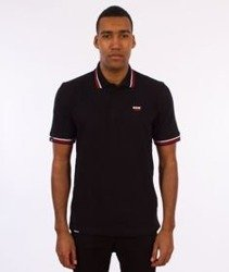 Patriotic-CLS Polo T-shirt Czarny