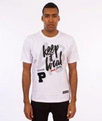 Patriotic-Keep 48 T-shirt Biały