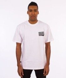 SmokeStory-Flag T-Shirt Biały