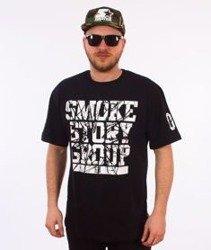 SmokeStory-SMG Broken T-Shirt Czarny