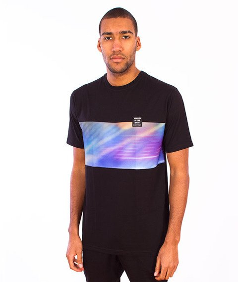 Alkopoligamia-Blinded Runner T-shirt Czarny
