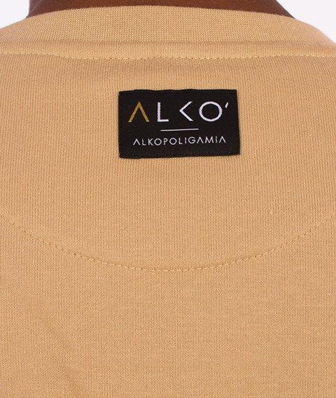 Alkopoligamia-ΔLKO' Bluza Beżowa