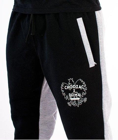 Alter Eggo-Two Sides Spodnie Dresowe Czarne/Szare