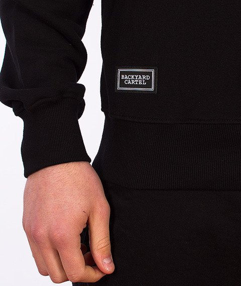 Backyard Cartel-Box Crewneck Black