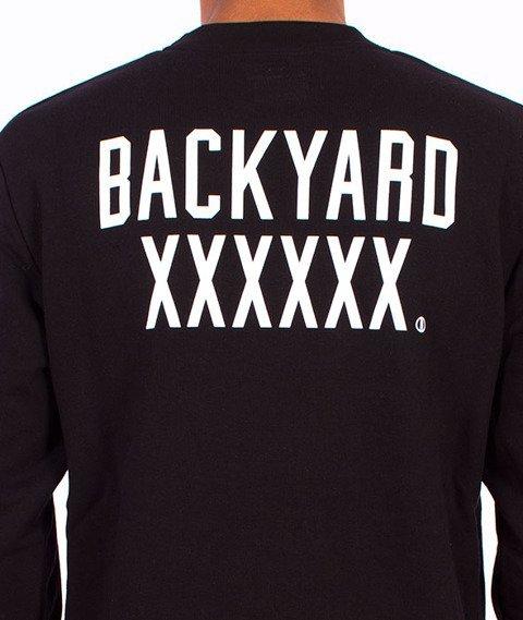 Backyard Cartel-Coach Long Crewneck Black