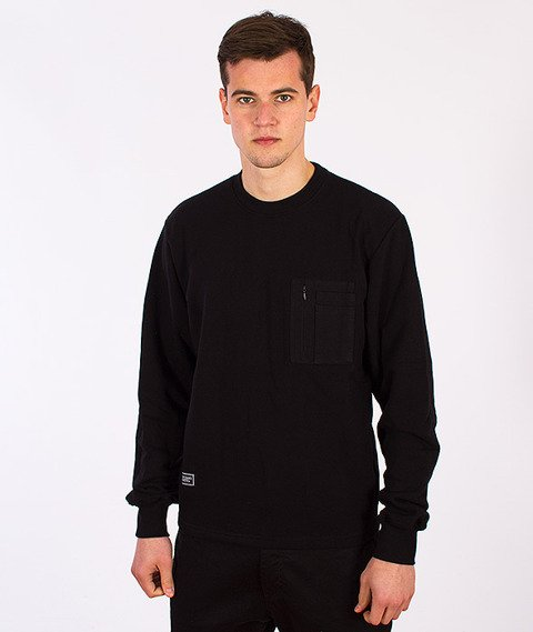 Backyard Cartel-Recon Crewneck Long Black