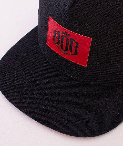 Biuro Ochrony Rapu-85 Snapback Czarny/Czerwony