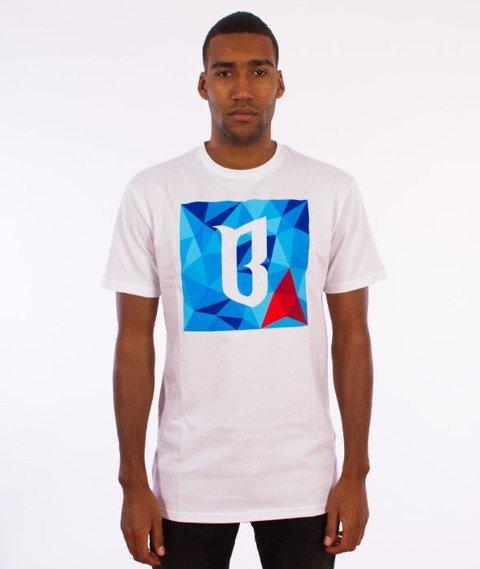 Biuro Ochrony Rapu-Triangle T-shirt Biały