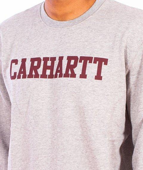 Carhartt-College Sweet Grey Heather/Cordovan