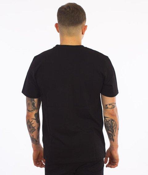 Carhartt-Contrast Pocket T-Shirt Black/Dark Grey Heather