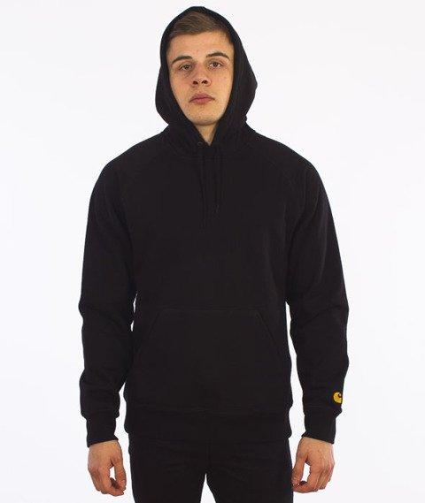 Carhartt-Hooded Chase Sweat Black