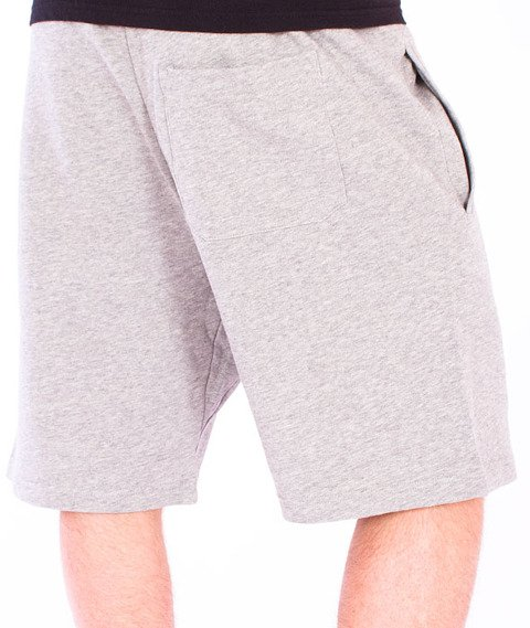 Carhartt WIP-College Sweat Short Grey Heathet/Cordovan