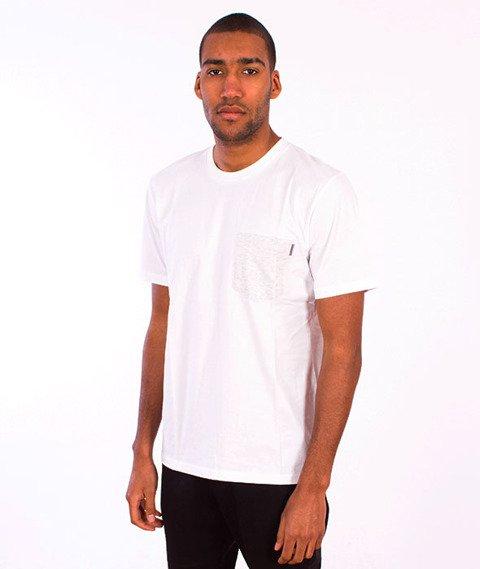 Carhartt WIP-Contrast Pocket T-Shirt  White/Ash Heather