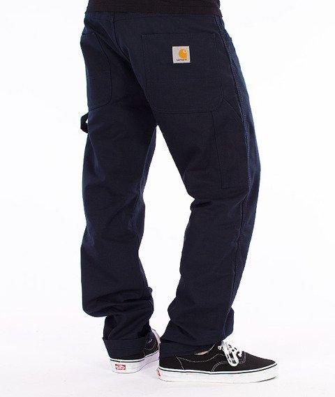 Carhartt WIP-Fort Pants Spodnie Navy Rigid
