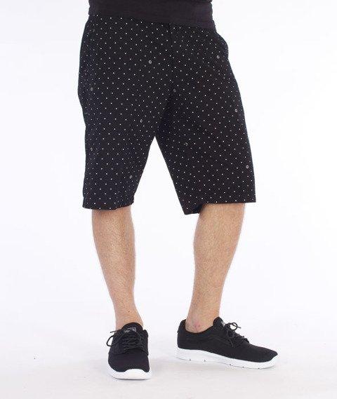 Carhartt WIP-Johnson Krótkie Spodnie Black/Broken White