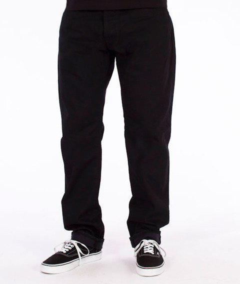 Carhartt WIP-Klondike Pant Spodnie Chicago Cotton Black