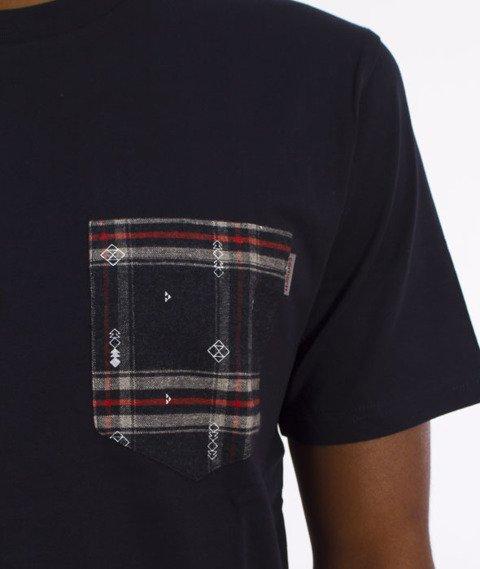 Carhartt WIP-Lester Pocket T-Shirt Navy/Carlos Check-Jupiter