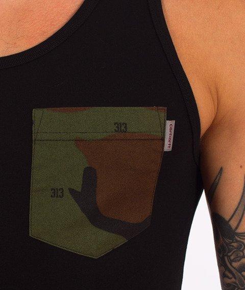 Carhartt WIP-Lester Pocket Tank Top Black Camo 313