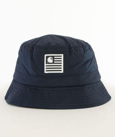 Carhartt WIP-State Bucket Hat Navy