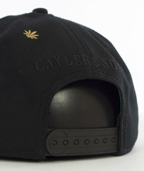 Cayler & Sons-A Dam's Finest Cap Snapback Black/Gold/White