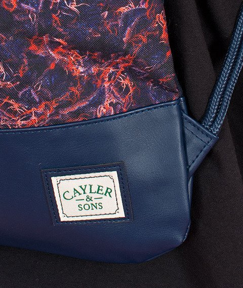 Cayler & Sons-Amsterdam Gym Bag Navy/Multicolor