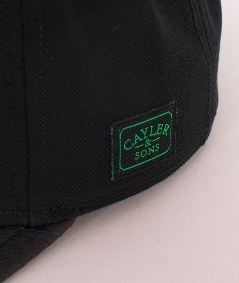 Cayler & Sons-B&M Cap Black/White