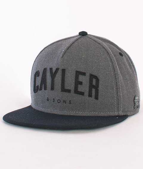 Cayler & Sons-Felton Cap Grey/Black