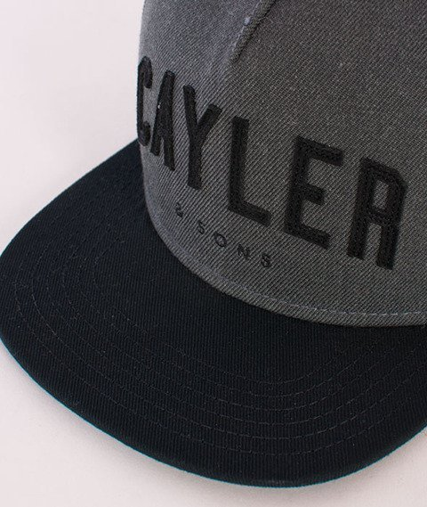 Cayler & Sons-Felton Cap Grey/Black