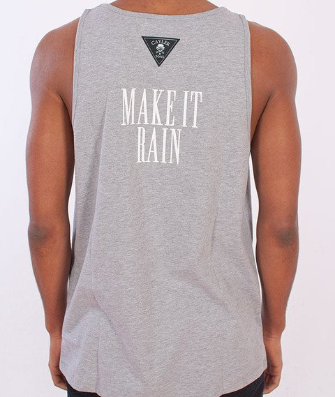Cayler & Sons-Get Money Tank Top Grey Heather/White/Green