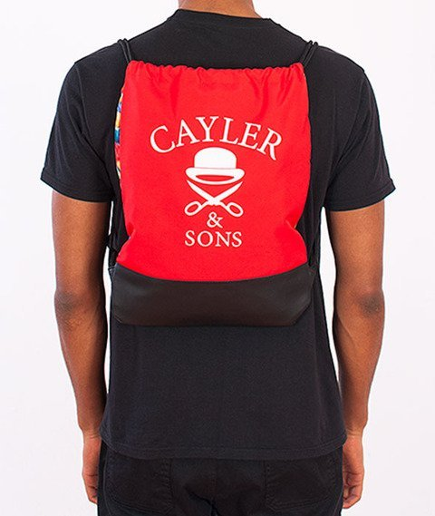Cayler & Sons-Good Moods Gym Bag Red/Multicolor/Black