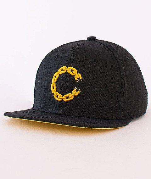 Crooks & Castles-Chain C Snapback Black