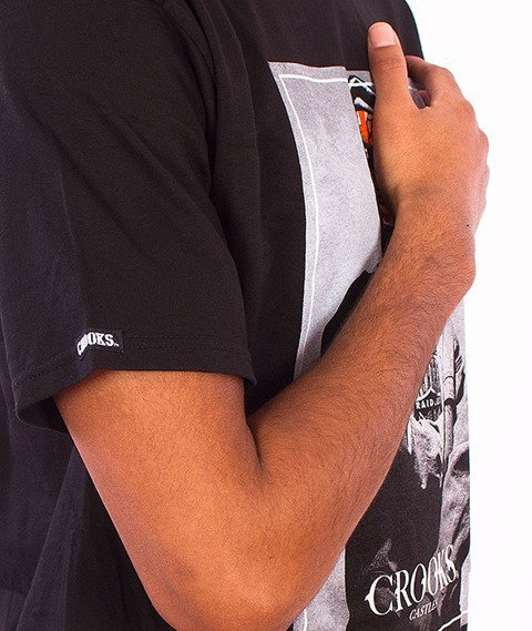 Crooks & Castles-Juice T-Shirt  Black