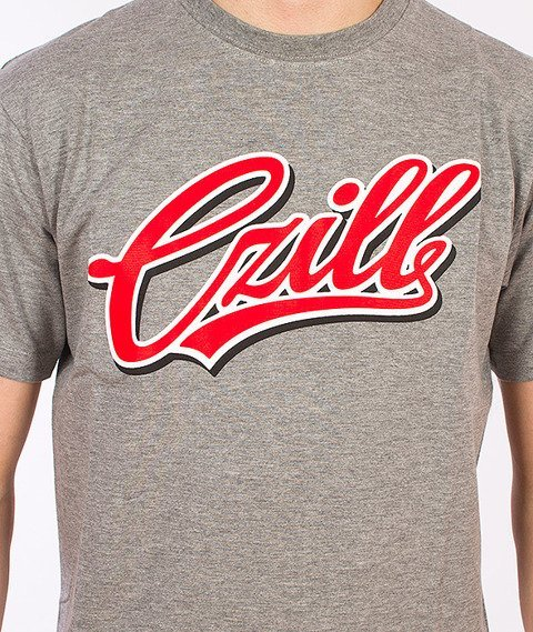 Czill-Pisany 2 T-shirt Szary