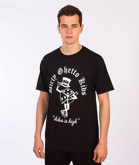 DGK-Stakes Is High T-Shirt Czarny