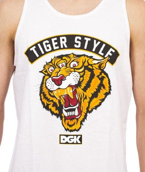 DGK-Tiger Style Tank-Top Biały