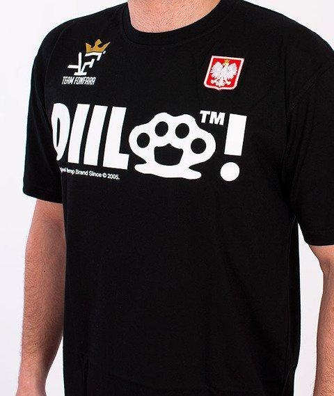 DIIL-Fonfara Team T-shirt Czarny
