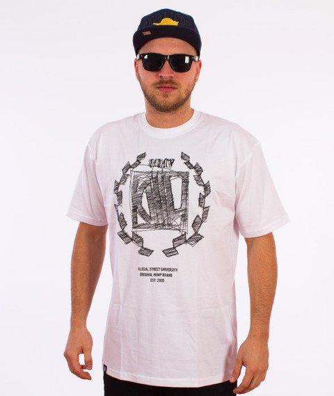 DIIL-Sketch T-Shirt Biały