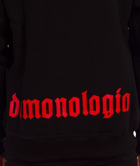 Demonologia-Dzieci Ognia Bluza Kaptur Czarna