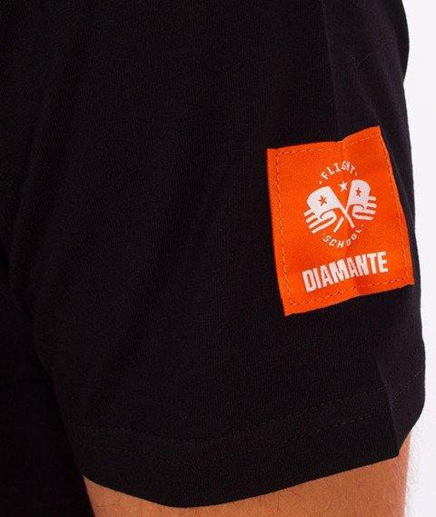 Diamante-Flag 02 T-Shirt Czarny