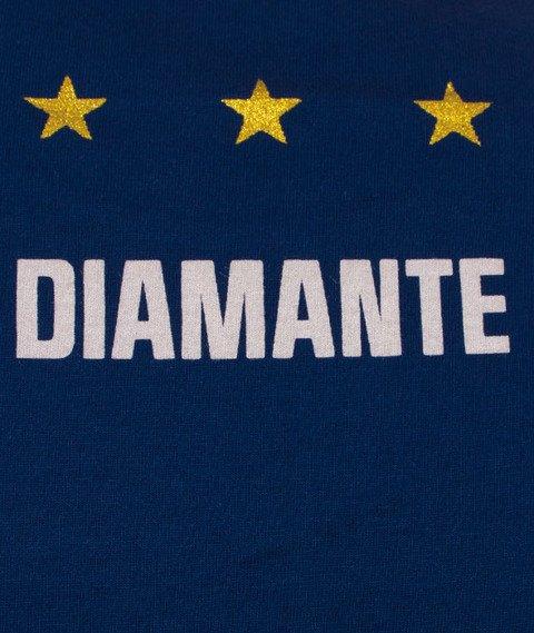 Diamante-Flight Schoolpocket T-Shirt Granatowy