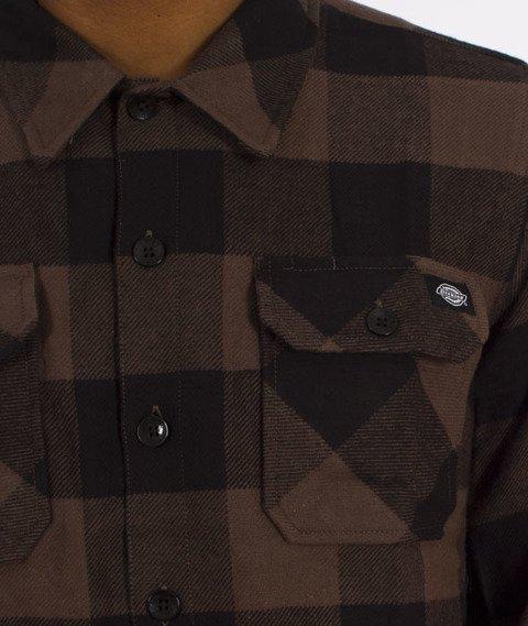 Dickies-Sacramento Shirt Koszula Gravel Grey